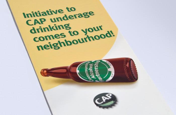 CAP branding – leaflet